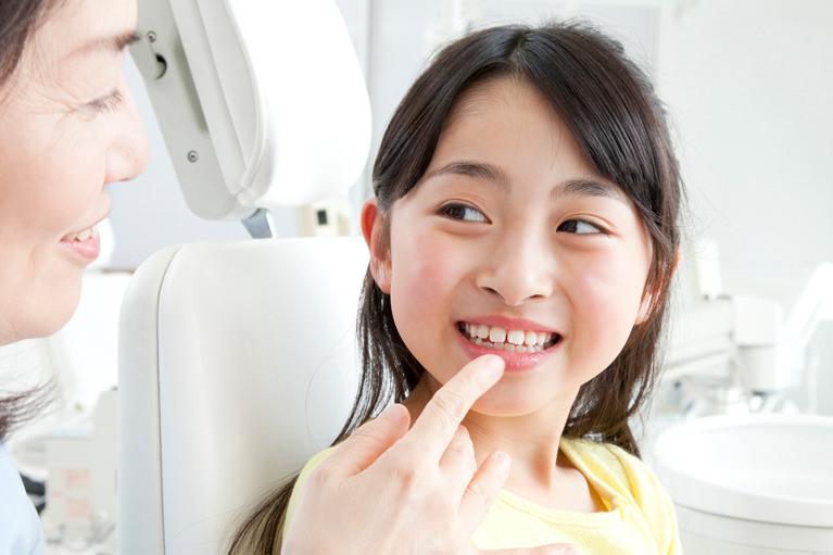 永久歯と歯並びのチェック